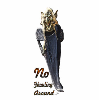 No Ghouling Around Photo Sculpture
