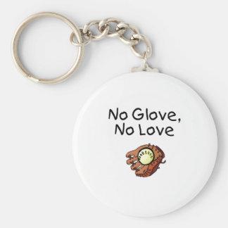 No Glove, No Love Keychain
