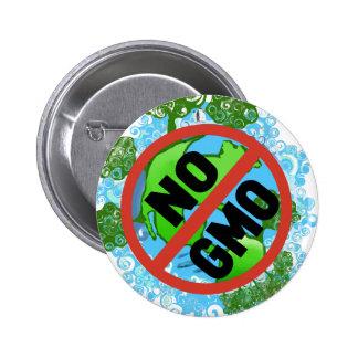 NO GMO PINBACK BUTTON