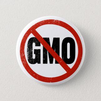 No GMO, Non GMO, March Against Monsanto 2 Inch Round Button