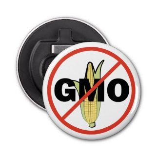 No GMO - On White Bottle Opener