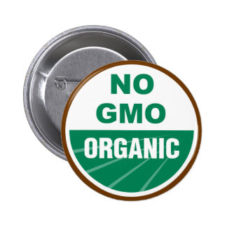 No GMO Organic 2 Inch Round Button