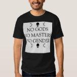 NO GODS NO MASTERS NO GENDER TSHIRTS
