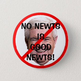 NO GOOD NEWTS - Button