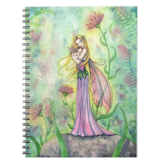 No Greater Gift Fairy Mother and Baby Notebook