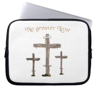no greater love laptop computer sleeve