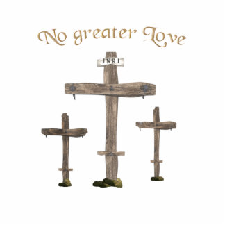 no greater love photo sculpture keychain