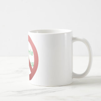No Greenie Weenies Coffee Mug