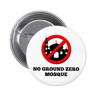 No Ground Zero Mosque 2 Inch Round Button
