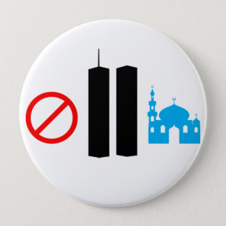 No Ground Zero Mosque 4 Inch Round Button
