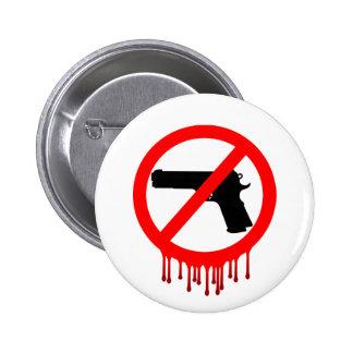 No Guns Allowed = Innocent Dead 2 Inch Round Button