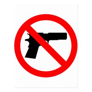 No Guns Anti Gun Postcards