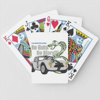 No guts No glory- cobra Bicycle Playing Cards