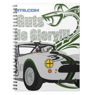 No guts No glory- cobra Notebook