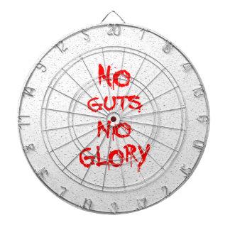 No Guts No Glory Dartboard