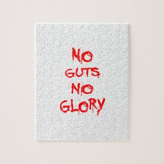 No Guts No Glory Jigsaw Puzzle