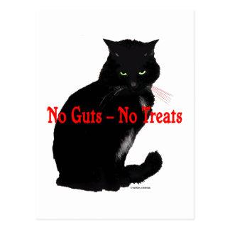 """""""No Guts, No Treats"""" Post Card"""