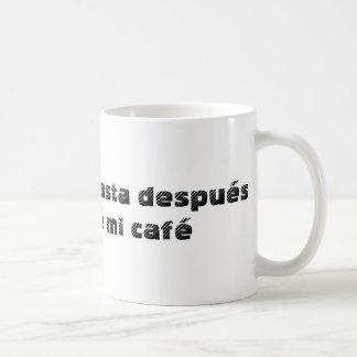 No hables coffee mug