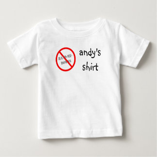 No Hand-me-downs Baby T-Shirt