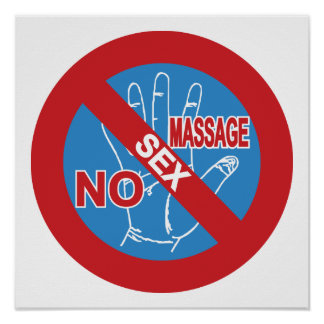 NO Happy Ending Massage ⚠ Thai Sign ⚠
