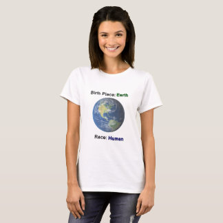 No Hate Human Race Equality Women's Tshirt