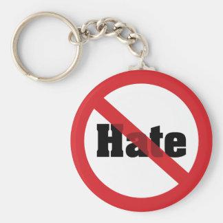 No Hate Keychain