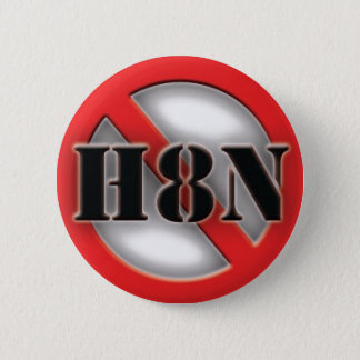 NO HATING Stop hating 2 Inch Round Button