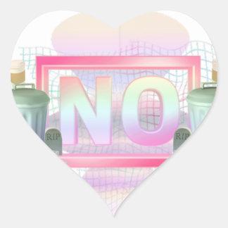 No Heart Sticker