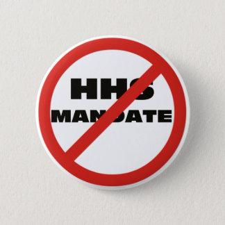 No HHS Mandate 2 Inch Round Button