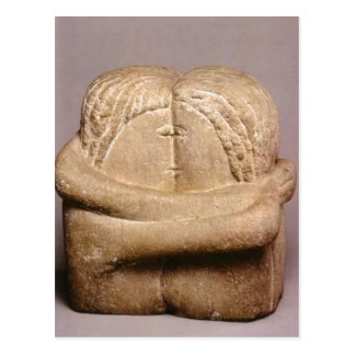 No higher resolution available. Brancusi_-_Sarutul Postcard