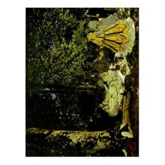 No higher resolution available. Claude_Monet_-_Le_ Postcard