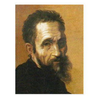 No higher resolution available. Michelangelo-Buona Postcard