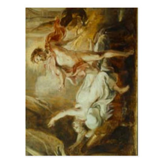 No higher resolution available. Rubens-Death-of-Se Postcard