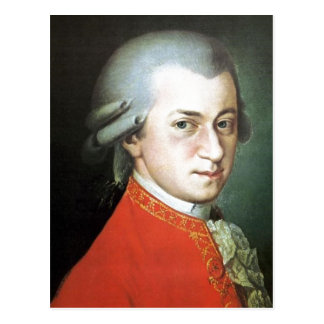 No higher resolution available. Wolfgang-amadeus-m Postcard
