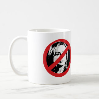 NO HILLARY CROSSED OUT.png Coffee Mug