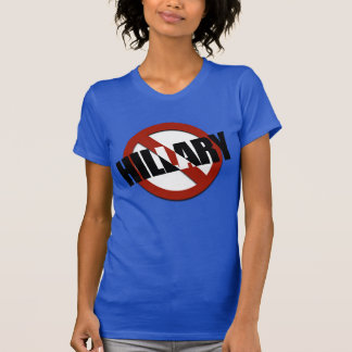 NO HILLARY - T-Shirt