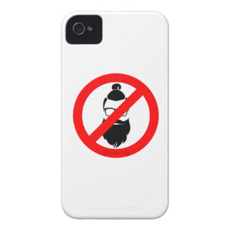No Hipsters or Man Buns iPhone 4 Case