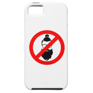 No Hipsters or Man Buns iPhone 5 Cover