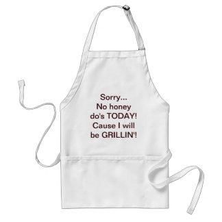 No honey do's! standard apron