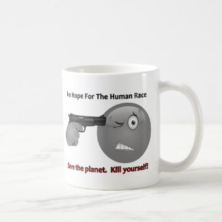 No Hope Emoticon Logo Coffee Mug
