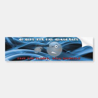 No Hope Smoky Blue Bumper Sticker