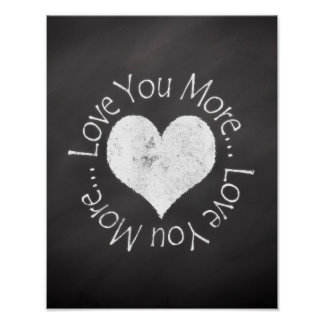 No, I Love You More Poster