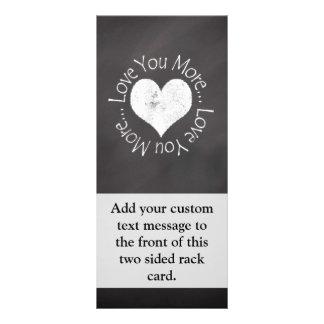 No, I Love You More Rack Card