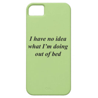 """""""No Idea"""" FUNNY shirts, accessories, gifts iPhone 5 Covers"""