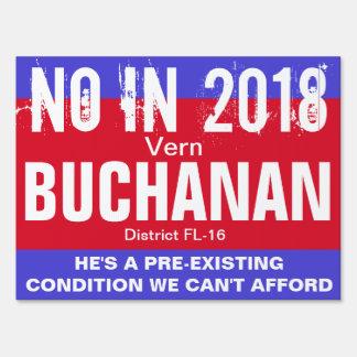 No in 2018: Buchanan FL-16 Sign