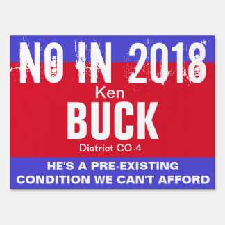 No in 2018: Buck CO-4 Sign