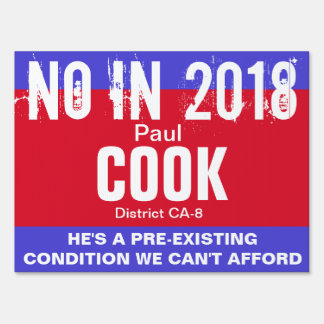 No in 2018: Cook CA-8 Sign