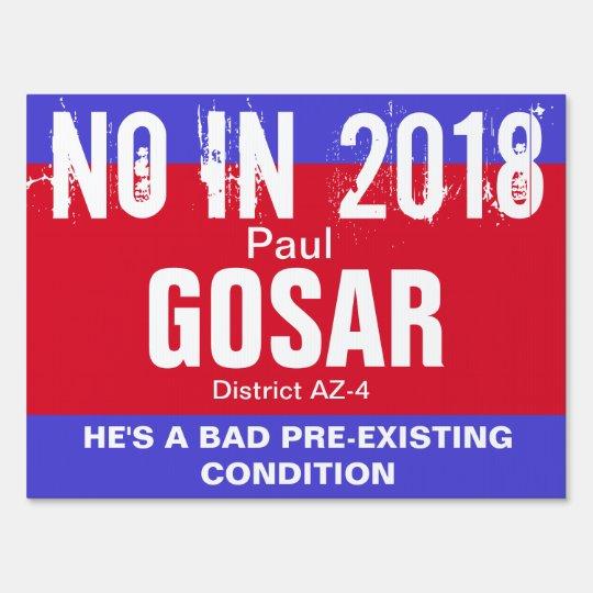 No in 2018: Gosar AZ-4