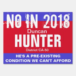 No in 2018: Hunter CA-50 Sign