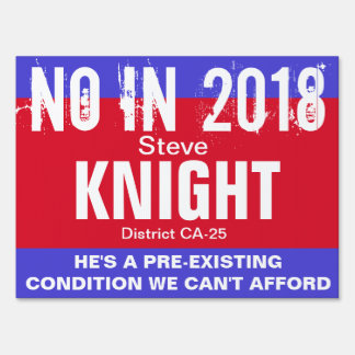 No in 2018: Knight CA-25 Sign
